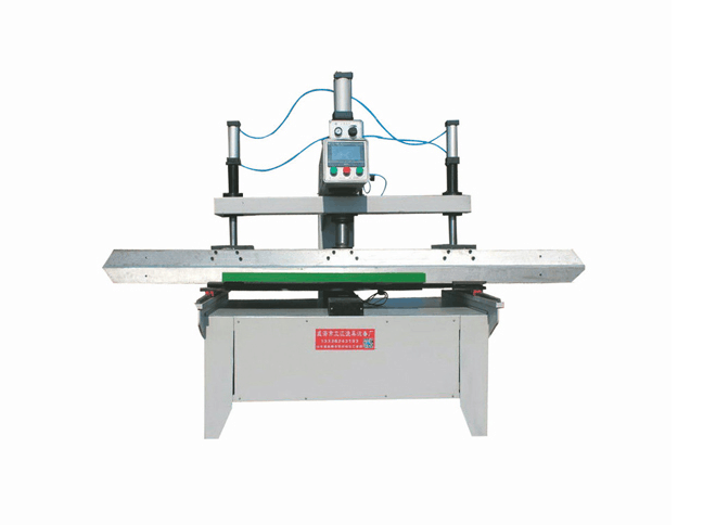 Double cantilever ball screw reeling machine