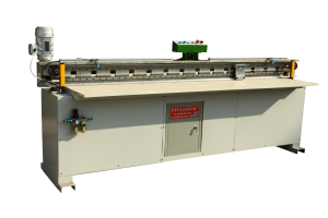 Broach type automatic sheeting machine