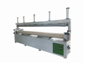 Three-roller tube machine